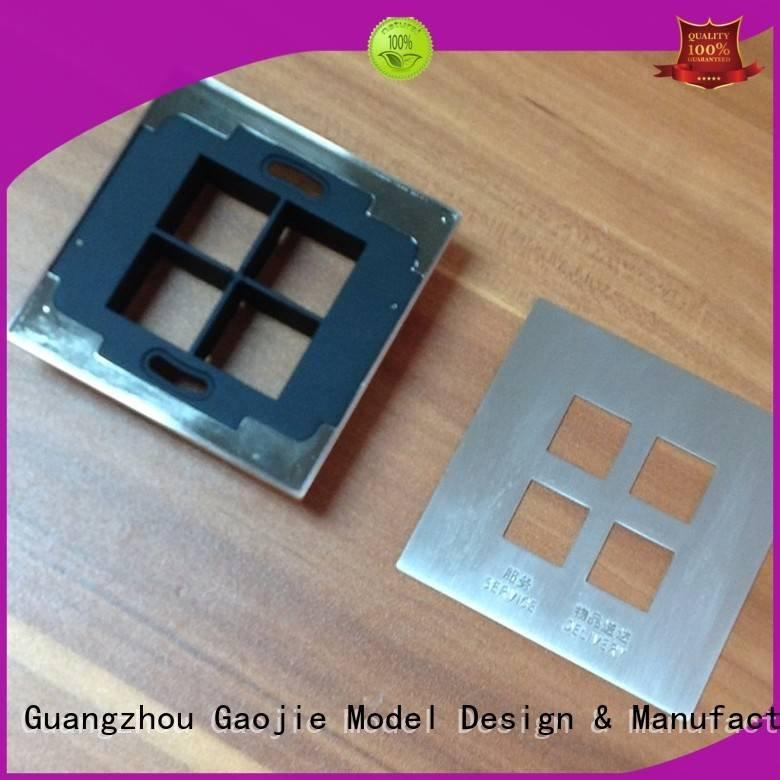 Hot metal rapid prototyping arts Metal Prototypes machine Gaojie Model