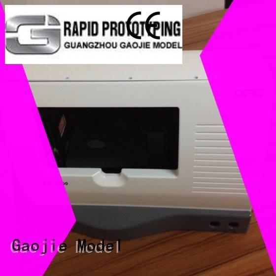 cnc plastic machining inspection painted greenlatrine Gaojie Model