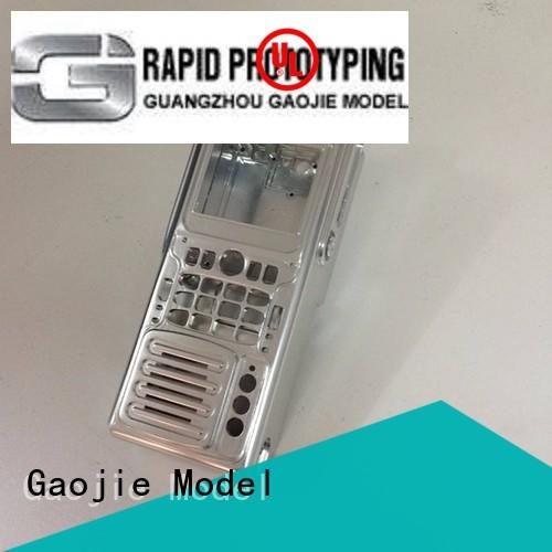Gaojie Model industrial 3d printing metal parts quality for commercial