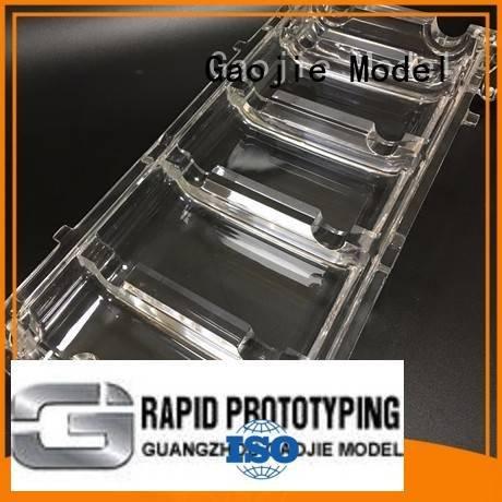 3d print transparent plastic bottles arts machining Gaojie Model