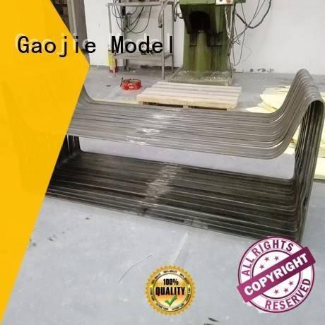 Gaojie Model Brand walkie shaping Metal Prototypes plastic fitting