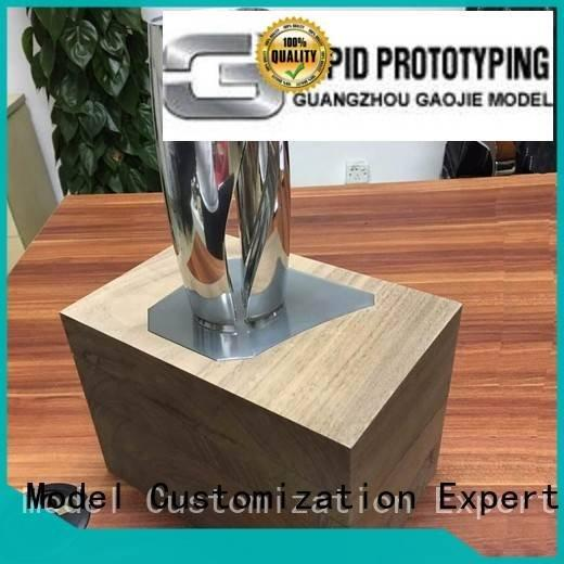 of spare 3d communication Gaojie Model Metal Prototypes