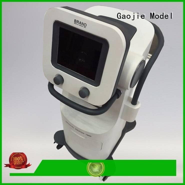 painted box cnc plastic machining Gaojie Model