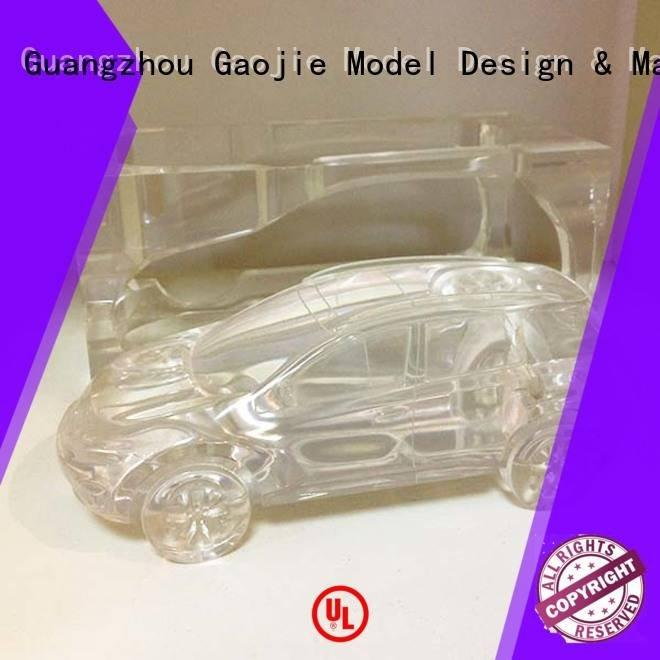 Gaojie Model spare Transparent Prototypes good building