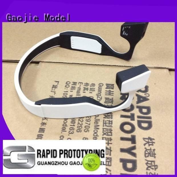 headphones custom plastic fabrication services plastic Gaojie Model