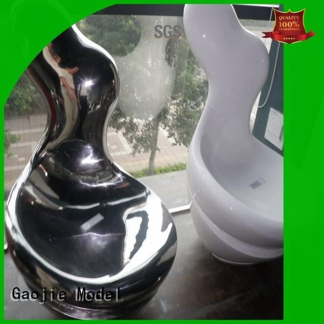 Hot 3d printing prototype service electroplated plastic cnc Gaojie Model Brand