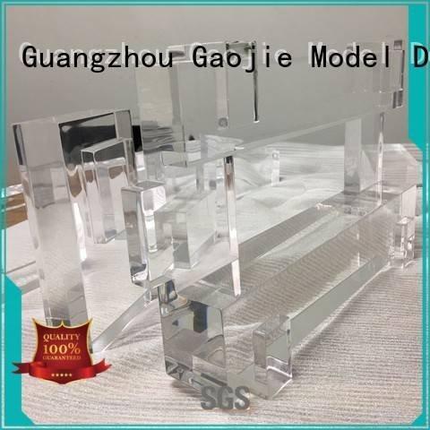 3d print transparent plastic parts Gaojie Model Brand Transparent Prototypes