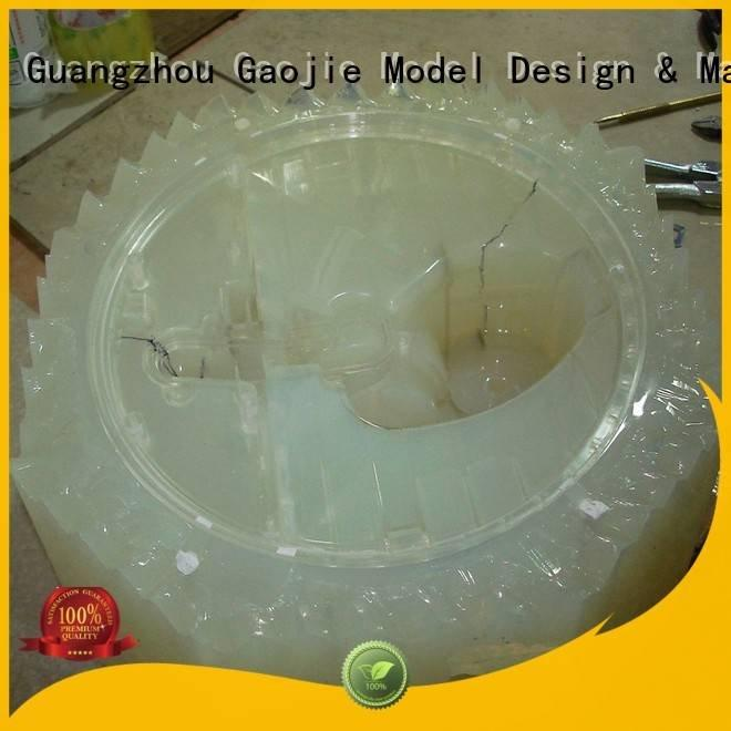 rapid prototyping companies supply vacuum casting parts Gaojie Model