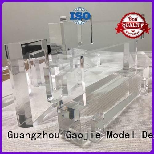 3d print transparent plastic bottles prototypes OEM Transparent Prototypes Gaojie Model