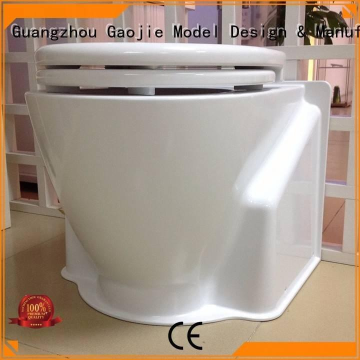 Hot cnc plastic machining household custom plastic fabrication toilet Gaojie Model