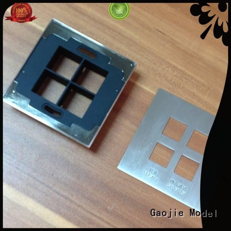 metal rapid prototyping talkie design Metal Prototypes Gaojie Model Brand