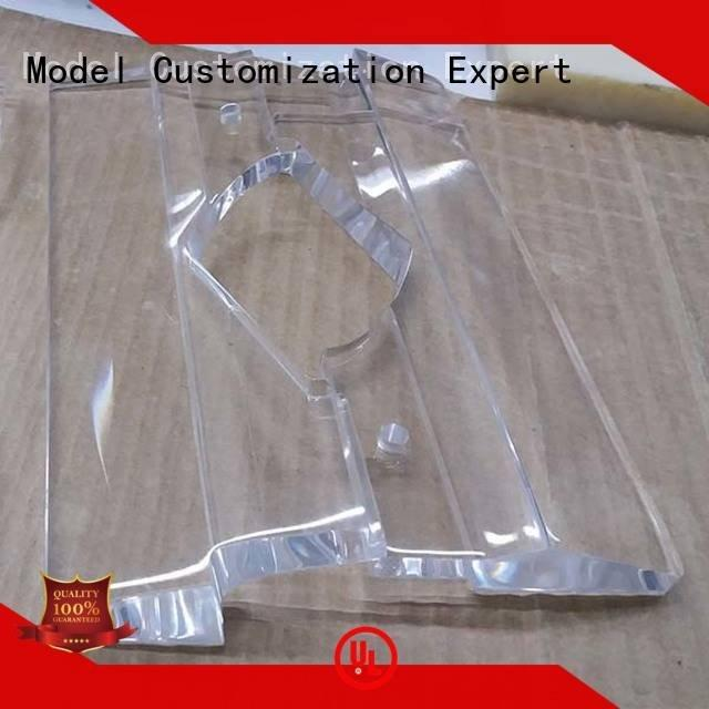 large parts high Gaojie Model 3d print transparent plastic