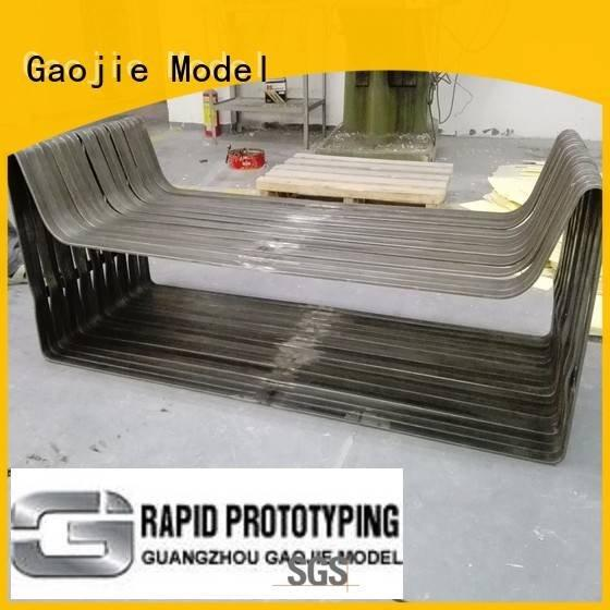 Wholesale services plating Metal Prototypes Gaojie Model Brand